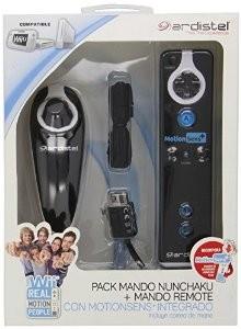 Pack Wii Remote Negro + Nunchuk Ardistel