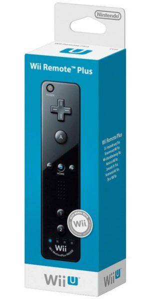 Mando Remote Plus Negro (incluye Función Wii Motionplus)