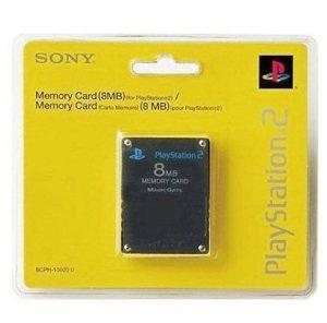 Memory Card Original 8MB Negro