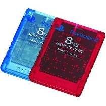 Memory Card Original 8MB Rojo