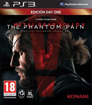 Metal Gear Solid V Phantom Pain Day One Edition