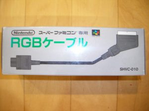 Cable RGB SNES