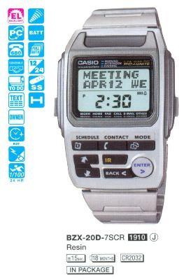 Casio BZX-20D-7SCR