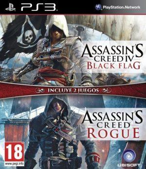 Asassins Creed IV: Black Flag + Assassins Creed Rogue
