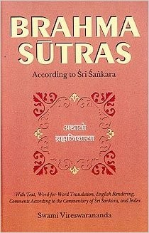 Brahma Sutras: According to Sri Sankara