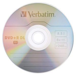 Bobina Verbatim DVD+R de 25