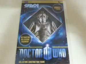 Kit de construcción de Cyberman de Dr. Who