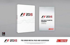 Caja metálica y Guía de Formula 1 2015