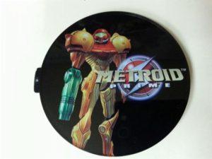 Chapa de Metroid Prime para Nintendo GameCube