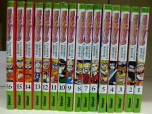 Cómics del manga Naruto