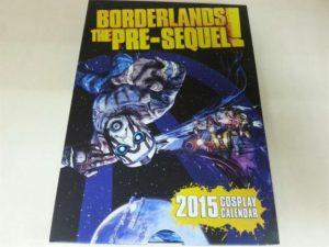 Calendario 2015 de Borderlands Pre Sequel