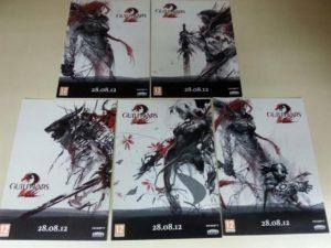 Set de 5 postales de Guild Wars 2