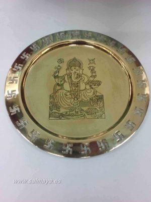 Plat de Pooja de Ganesha
