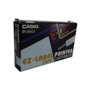 Casio EZ-Label Printer Tape Cartridge IR-9XG1