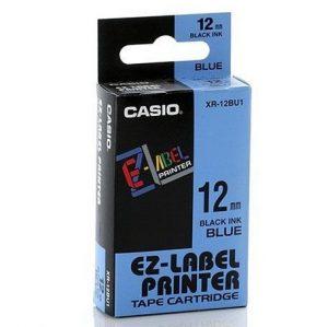 Casio EZ-Label Printer Tape Cartridge XR-12BU1