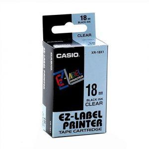 Casio EZ-Label Printer Tape Cartridge XR-18X1