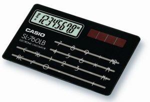 Casio SL-760LB
