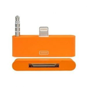 8 Pin to 30 Pin Audio Adapter for iPhone 5