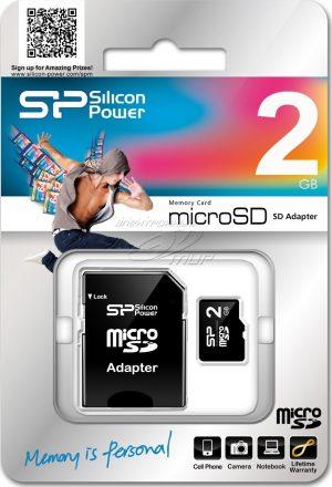 2GB Silicon Power Micro SD
