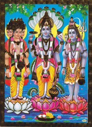 Brahma Vishnu Shiva