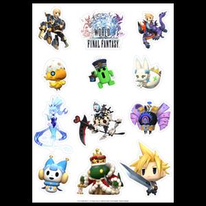 Pegatinas World Of Final Fantasy