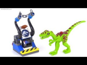 Lego Jurassic World Dinosaour Trap 30320