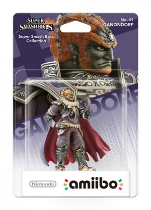Amiibo Ganondorf  (Serie Super Smash Bros.)