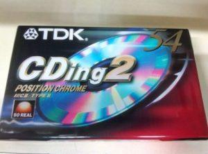 TDK CDing 2 54 min.