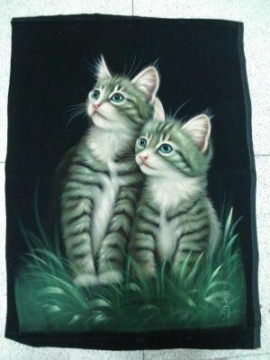 Cuadro de Gatos