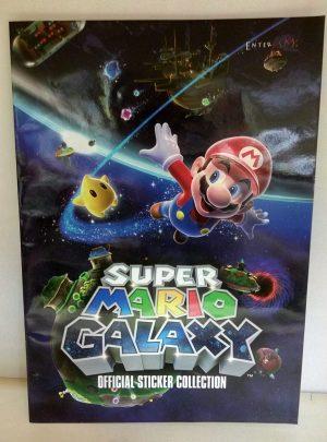 Album de cromos de Super Mario Galaxy
