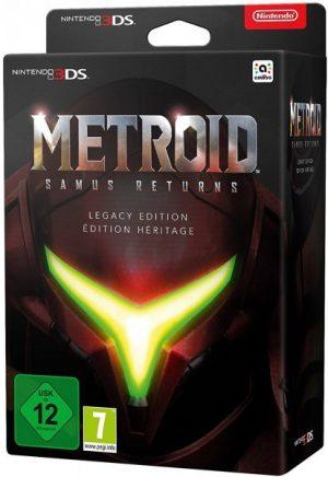 Metroid: Samus Returns Edición Legacy