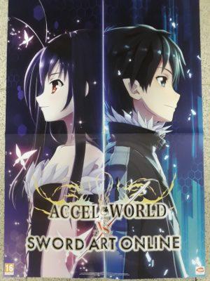 Accel World vs Sword Art Online (doble cara)