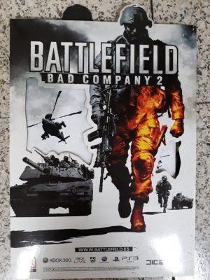 Battlefield Bad Company 2 (carton de doble cara)