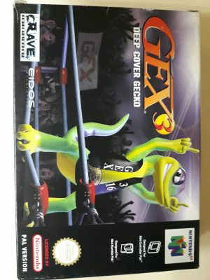 Gex 3 Deep Cover Gecko