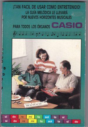 Libro de partituras para Organos Casio