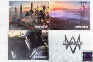 3 Postales de Watch Dogs 2