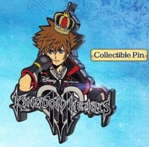 Pin oficial de Kingdom Hearts 3
