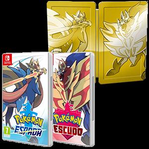 Pokémon Espada + Escudo + Steelbook