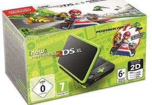 New Nintendo 2DS XL Verde Lima + Mario Kart 7