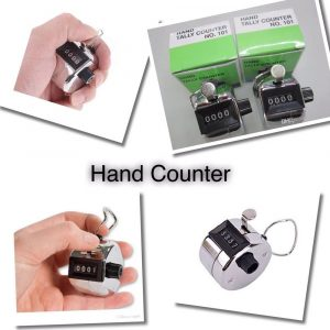 Hand Tally Counter 101