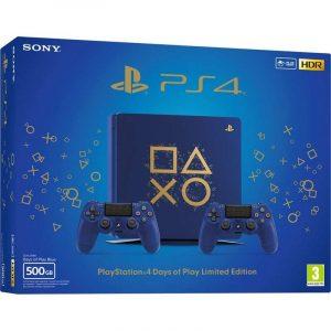 Consola Playstation 4 Slim 500GB + 2º Dual shock 4 Days of Play