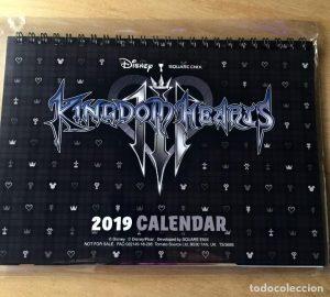 Calendario Kingdom Hearts 3 2019