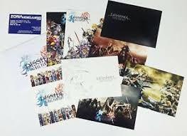 8 Postales Dissidia Final Fantasy