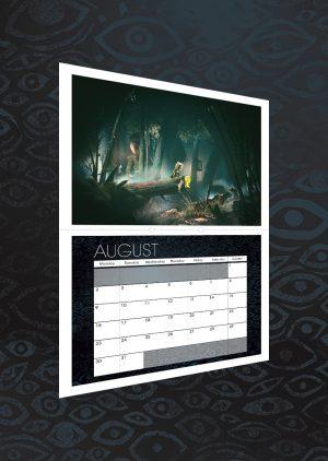Calendario 2021 Little Nightmares 2