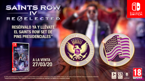 Pin Saints Row IV Re Elected