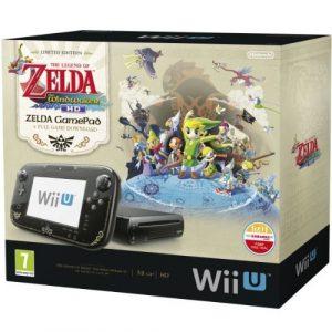 Nintendo Wii U Consola 32 GB, Color Negro + Zelda: Wind Waker HD