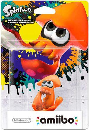 Amiibo Calamar Naranja (Serie Splatoon)